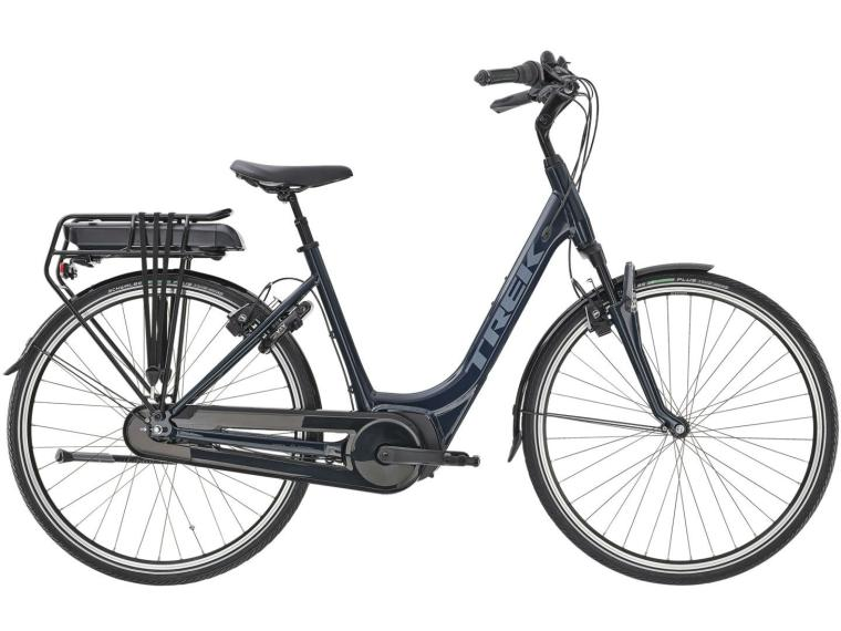 Trek District+ 4 2020 Elektrische Fiets Dames / Blauw