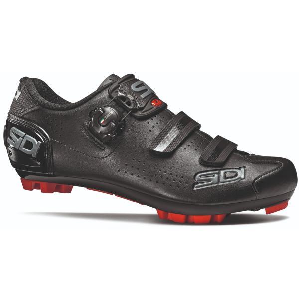 NEW 2020 Sidi TRACE 2 MEGA Wide Mountain Bike MTB Shoes BLACK//BLACK