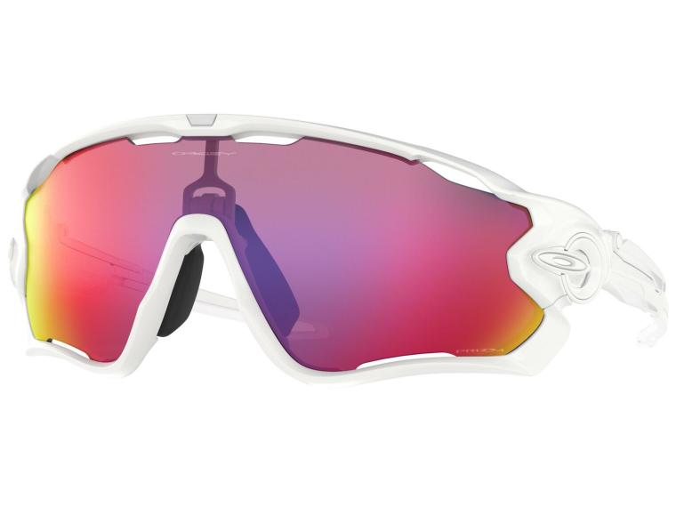 Oakley Jawbreaker Prizm Road Fietsbril Polished White