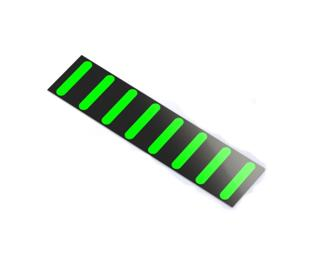 Rapid Racer Products ProGuard Rear Stickers Green