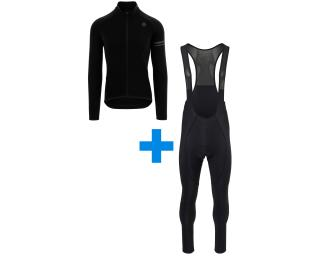 AGU Essential LS + Essential Warm set Bib Tights