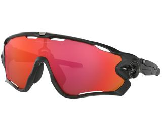 Oakley Jawbreaker Prizm Trail Torch Cycling Glasses Black
