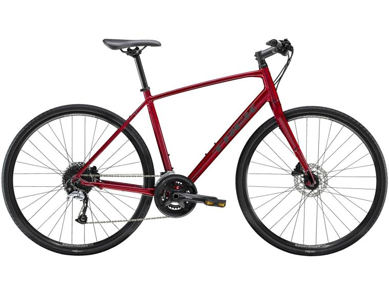 Trek FX 3 Disc Rood