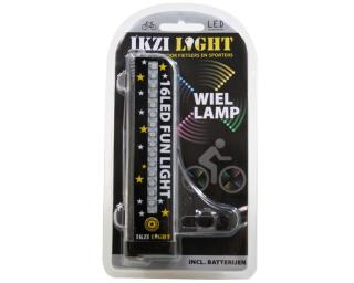 Ikzi Wielverlichting 16 LED's Spaken
