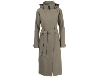 AGU Urban Outdoor Trench Coat Long Regnjackor Grå