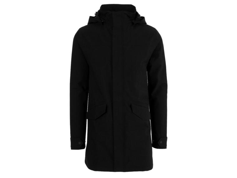 AGU Urban Outdoor Long Parka Regenjas Zwart