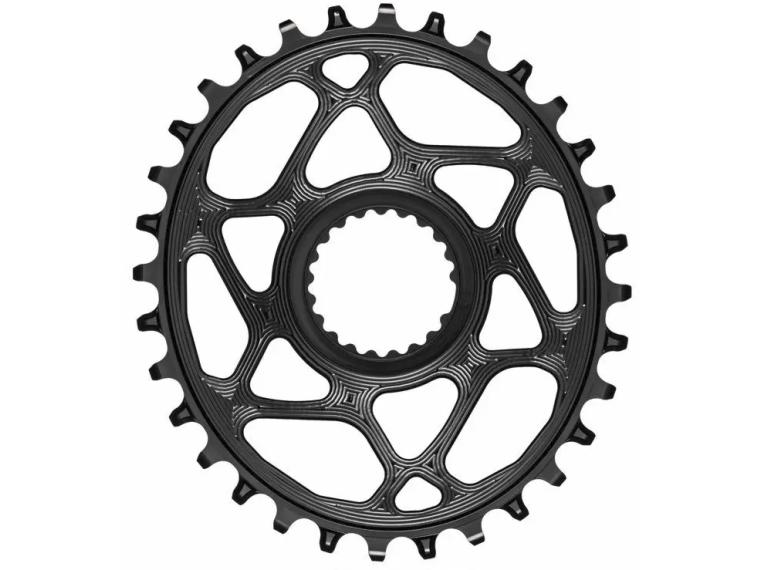 AbsoluteBLACK Oval Shimano Direct-Mount Chainring