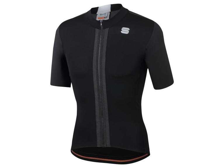 Sportful Strike Short Sleeve Jersey Black