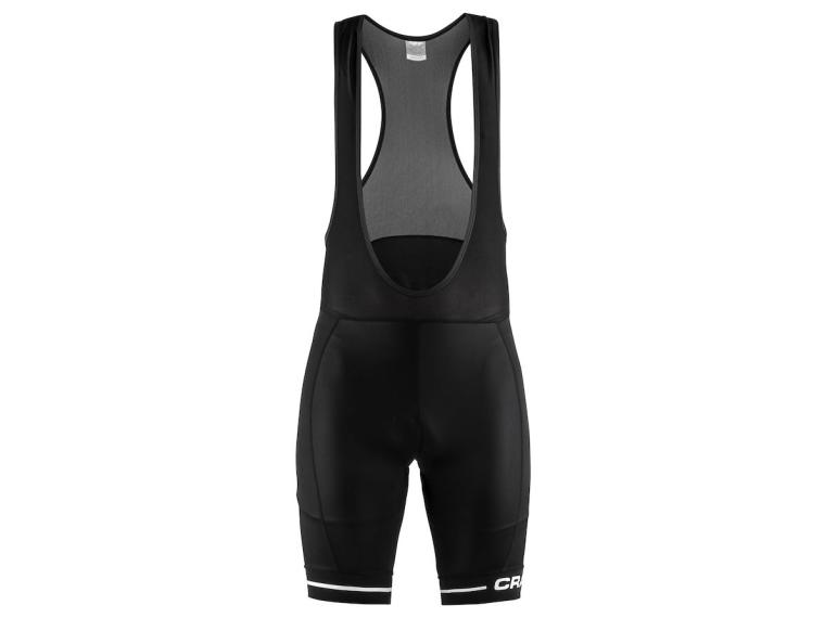Craft Rise Bib Short White