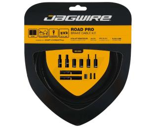 Jagwire Road Pro Brake Kit Zugset Schwarz