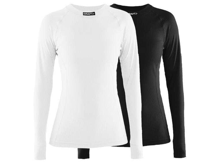 Craft Active 2-Pack dames Ondershirt Zwart / Wit