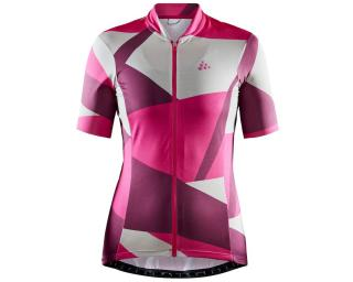 Craft Hale Graphic W Fietsshirt Roze