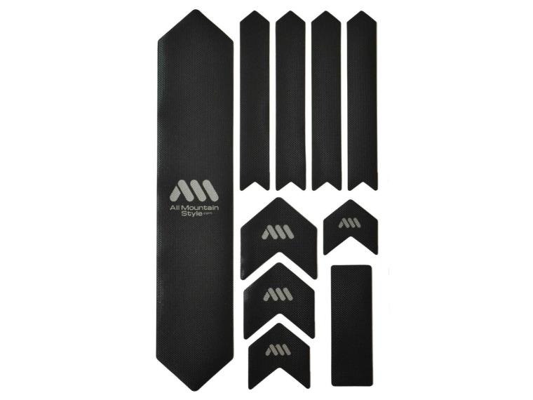 All Mountain Style Honeycomb Frame Guard XL Solid Black