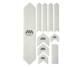 All Mountain Style Honeycomb Frame Guard XL Solid White