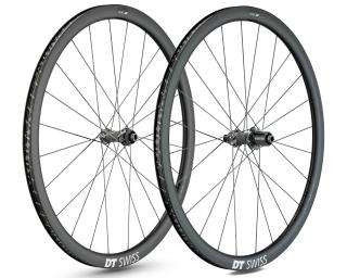 DT Swiss PRC 1400 Spline 35 Disc Road Bike Wheels Set
