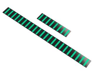 Rapid Racer Products ProGuard Front Stickers Cyan