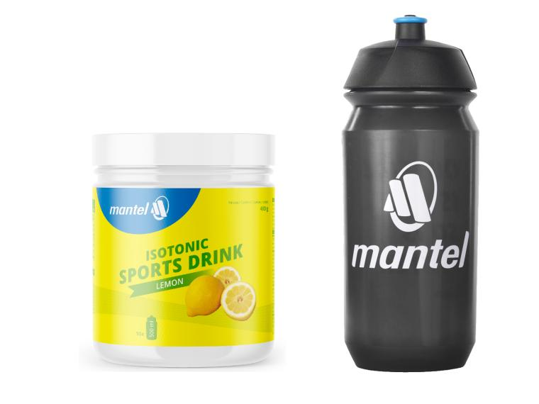 Mantel Isotonic Sports Drink + Bidon
