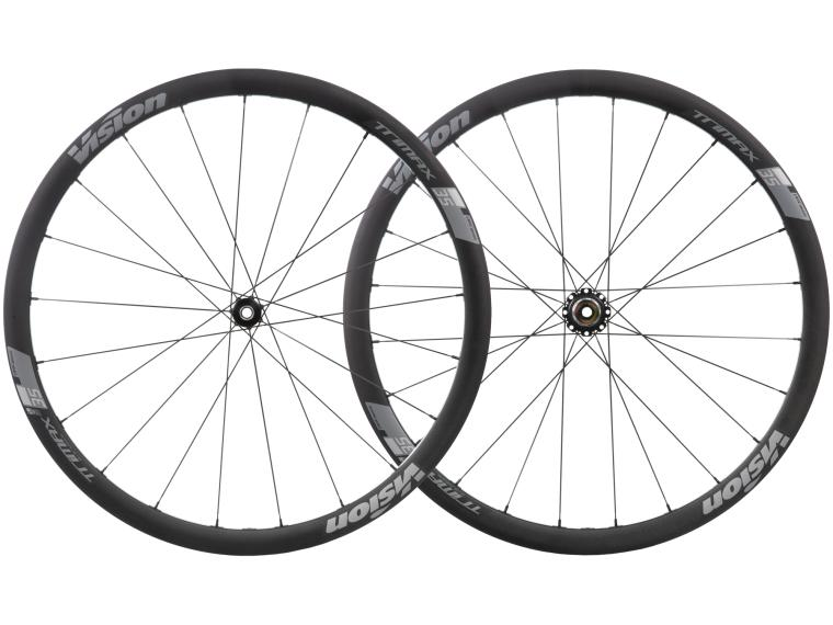 Vision Trimax 35 Disc TL Road Bike Wheels Wheelset