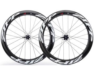 Zipp 404 Firecrest Tubular Disc Brake Road Bike Wheels Set / White