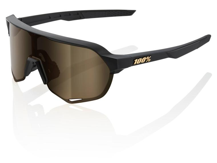 100% S2 Soft Gold Cycling Glasses