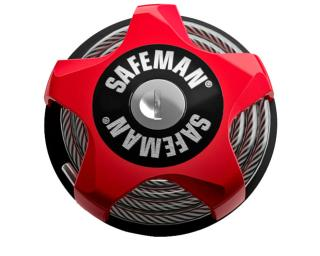Safeman Cable Lock  Red