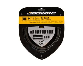 Jagwire 2x Sport Shift Cable Kit Grey