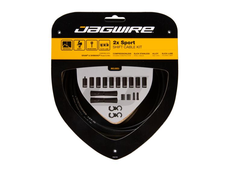 Jagwire 2x Sport Shift Ice Gray