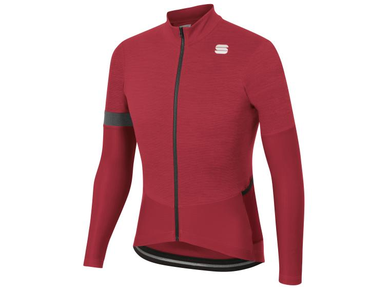 Sportful Supergiara Thermal Fietsshirt Rood