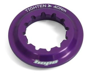 Hope Centre Lock Disc Lockring Purple