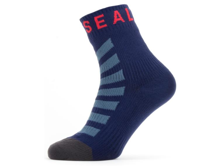 Chaussettes Sealskinz Warm Weather Hydrostop Bleu