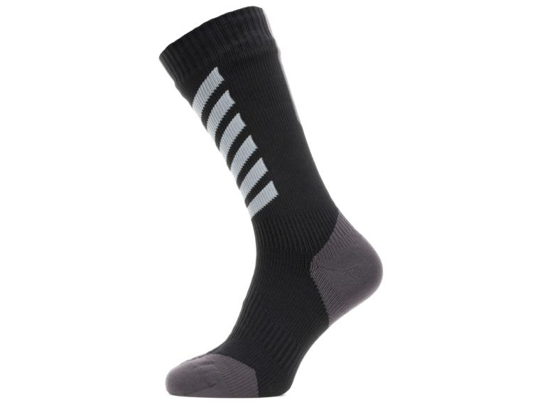 Sealskinz All Weather Mid Hydrostop Socks White