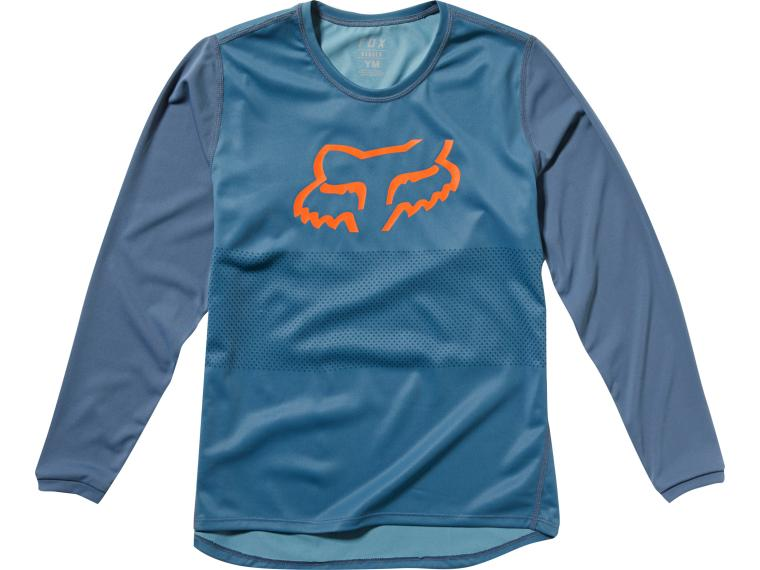Fox Racing Ranger Youth LS Kinder Fietsshirt