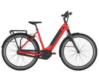 Gazelle Ultimate C8+ HMB 2021 E-Bike Damen / Rot