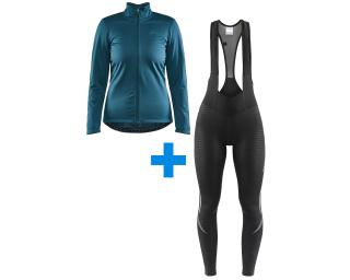 Craft Core Ideal 2.0 W + Craft Ideal Thermal set Bib Tights