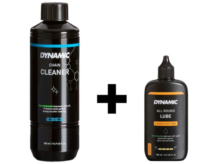 Dynamic Chain Cleaner + All Round lube