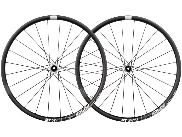 DT Swiss GR 1600 Spline 25 Disc Gravel Wheels Set