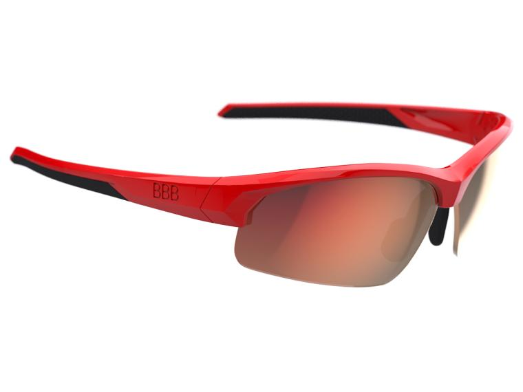 BBB Cycling Impress Small PC Cykelbrille Rød
