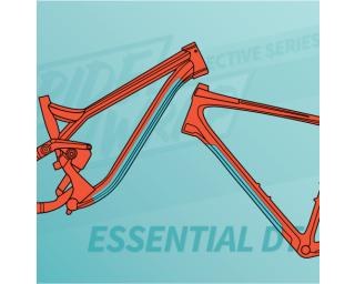 RideWrap Essential Downtube Kit