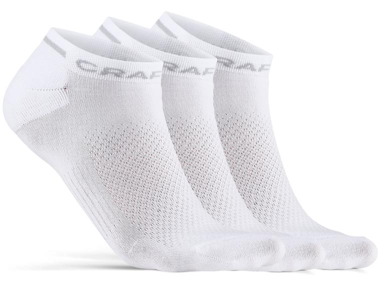 Craft Core Dry Shaftless 3-pack Socken Weiß