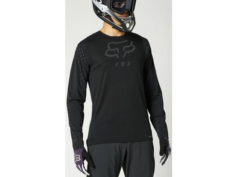 Fox Racing Flexair Delta MTB Jersey Black