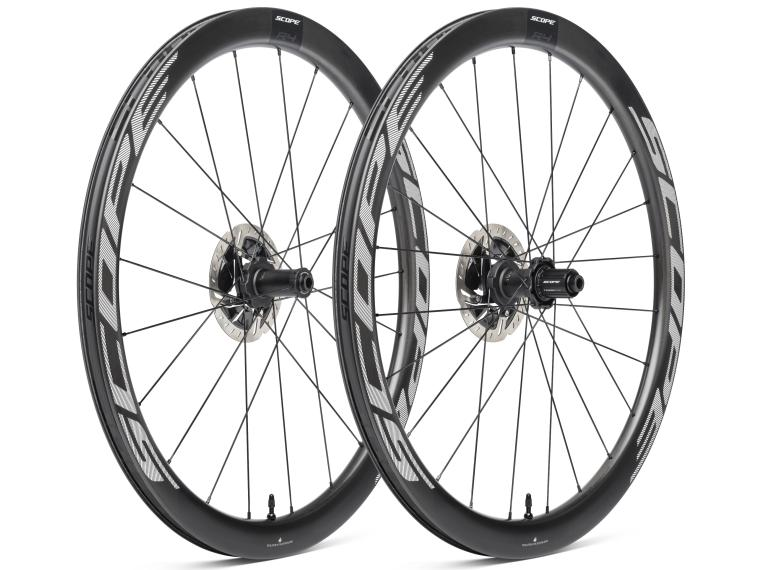 Scope R4 Disc Road Bike Wheels White
