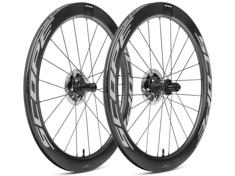 Scope R5 Disc Racefiets Wielen Wit