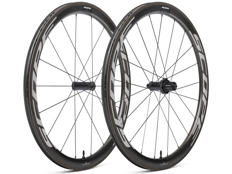 Scope R4 Road Bike Wheels White