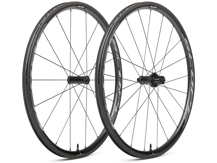 Scope R3 Road Bike Wheels White
