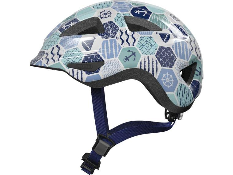 Abus Anuky 2.0 Children's Helmet Blue Sea