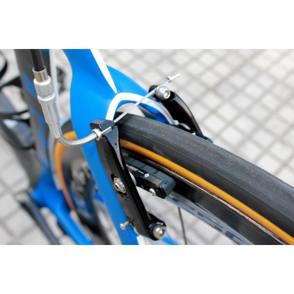 FOURIERS Road bike cartridge V-Brake Pads Set Bicycle Brake Pads Shoes