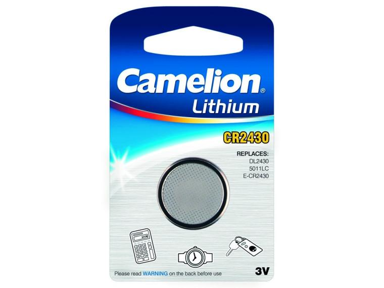 Pile Bouton Camelion CR2430 Battery