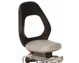 Yepp Junior Easyfit Rear Mounted Seat Silver