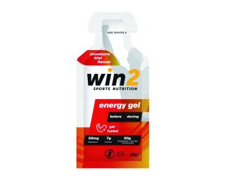 WIN2 Energy Gel Jordbær