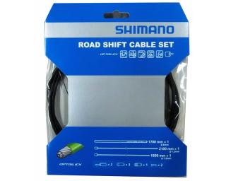 Shimano Optislick Road Shift Cable Set Black